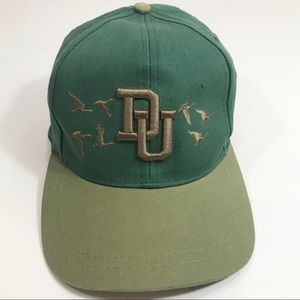 Ducks Unlimited Hat Adjustable Flying Duck Hunting